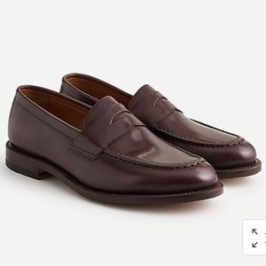 NWOB J Crew Ludlow penny loafers Brown Sz 9.5